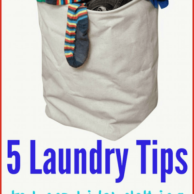 5 Laundry Tips to Keep Kids' Clothing Stain-Free