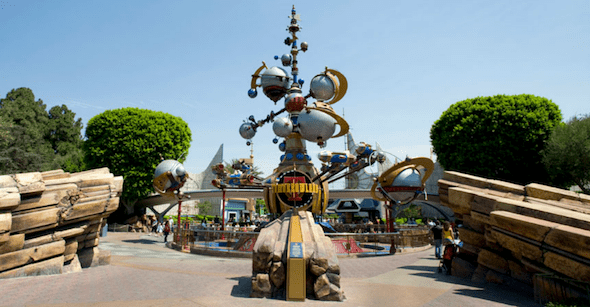 tomorrowland movie at disneyland