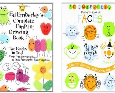 kids drawing books