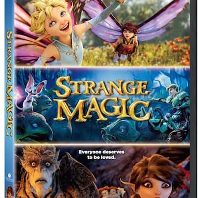 strange magic DVD cover