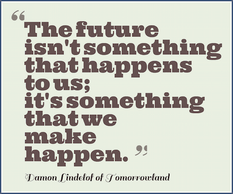 damon lindelof quote tomorrowland