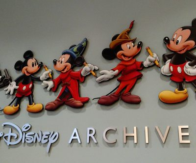 Going Inside the Disney Archives to View the Vision of TOMORROWLAND #TomorrowlandEvent