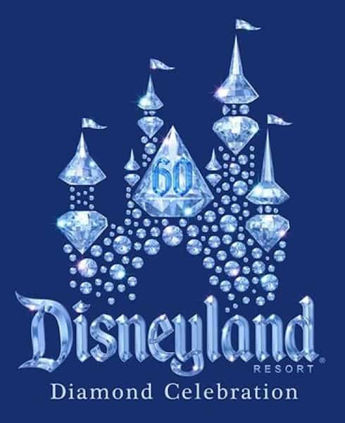 disneyland diamond celebration logo