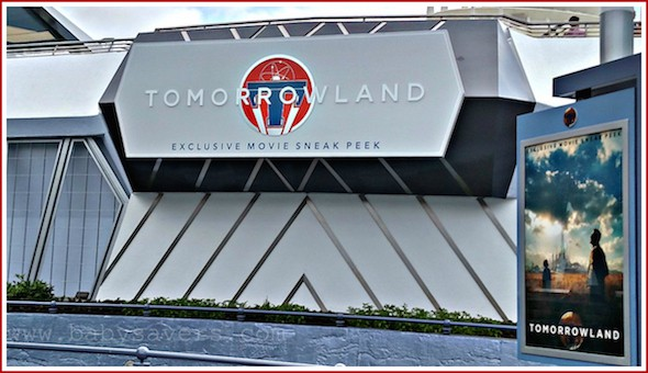 disneyland tomorrowland in movie