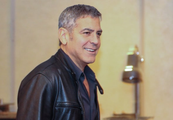 george clooney mommy blogger press junket