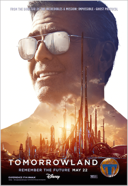 george clooney tomorrowland poster big