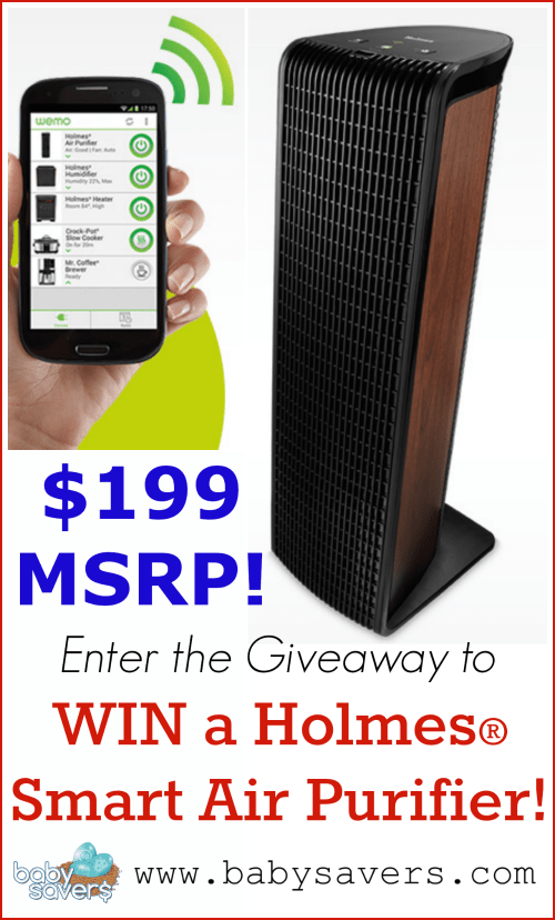 holmes smart air purifier review