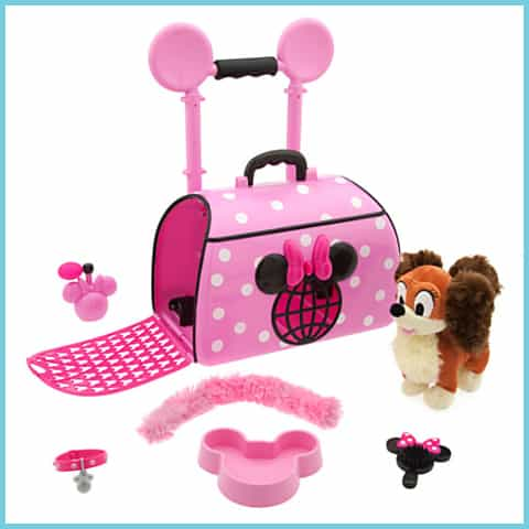 minnie popstar pet carrier with mouse ears