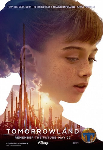 raffey cassidy tomorrowland poster