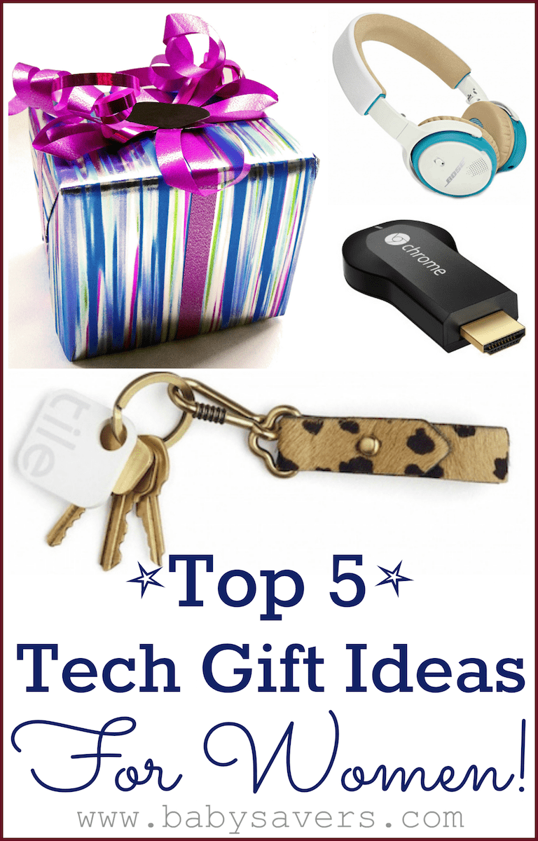 Top 5 technology gifts for women for Best new tech gifts