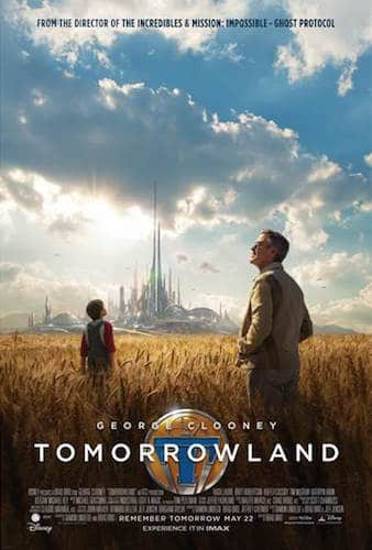 tomorrowland movie poster 2015 george clooney