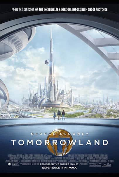disney tomorrowland movie poster