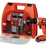 Save 55% on the Black & Decker 20-Volt MAX Lithium-Ion Drill Kit with 100 Accessories, Free Shipping Eligible! Today Only!