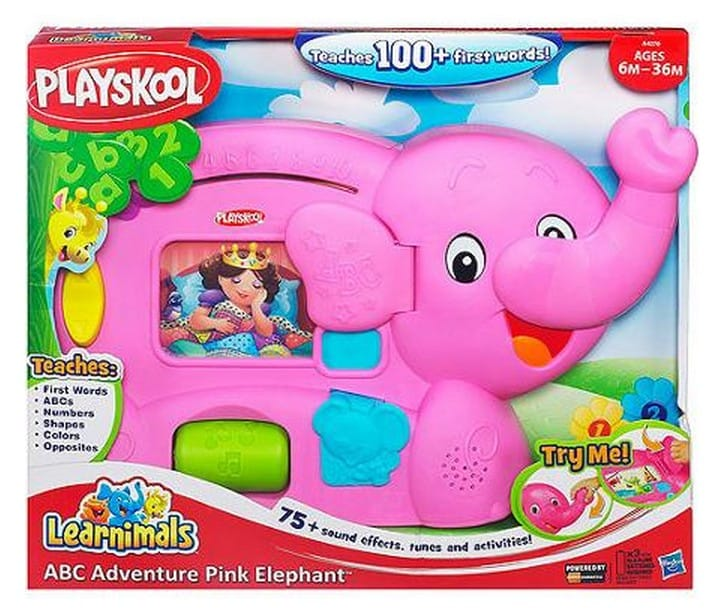 Playskool Toy Food : Save off playskool learnimals abc adventure elefun toy