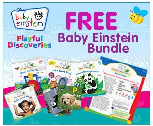 Get a Baby Einstein Bundle for Free! Great Gift Idea!