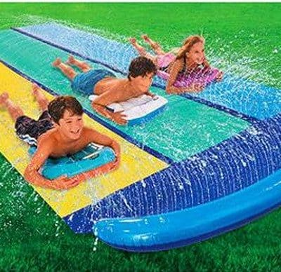 Save 49% off Wham-O Slip 'N Slide Triple Racer, Free Shipping Eligible!