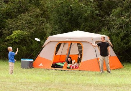 Ozark Trail 8 Person 2 Room Instant Cabin Tent with 2 Bonus Queen Airbed Bundle only $139 FREE Shipping! & Ozark Trail 8 Person 2 Room Instant Cabin Tent with 2 Bonus Queen ...