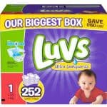 Luvs With Ultra Leakguards Diapers as low as $0.08/Diaper, Free Shipping Eligible!