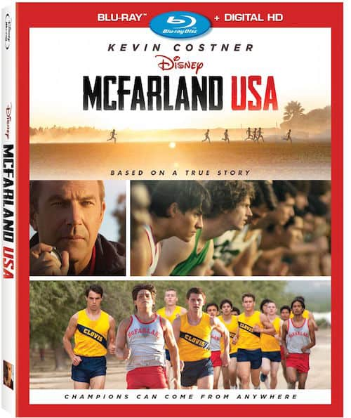 McFarland USA DVD blu ray cover