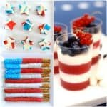Fourth of July Recipes: Red, White and Blue 4th of July Treats!