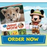 FREE Disney Animal World + 2 FREE Disney Figurines! (Just pay Shipping!)