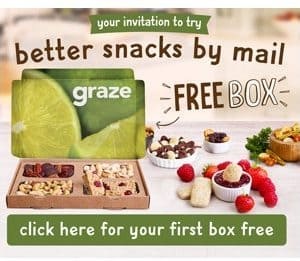 FREE Box of Healthy Snacks from Graze!