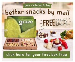 Sign up for Your FREE Box of Healthy Snacks from Graze!