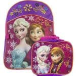 Save 35% on the Disney Frozen Backpack with Matching Lunchbox Set , Free Shipping Eligible!