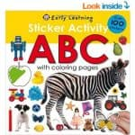 Save 31% on the Sticker Activity ABC Book, Free Shipping Eligible!