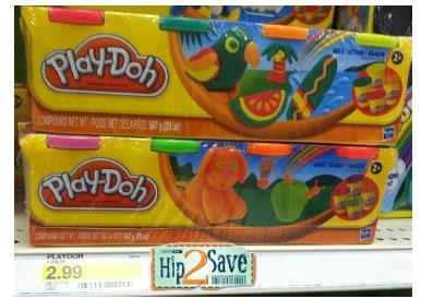 Target Deals: Play-Doh 4-Pack for $0.99 After Printable Coupons