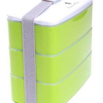 Save 75% on the Multi-Compartment Stackable Bento Lunch Box, Free Shipping Eligible!