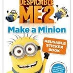 Save 36% on the Make a Minion Reusable Sticker Book, Free Shipping Eligible!
