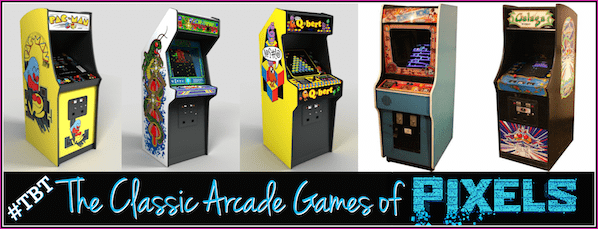 The Classic Video Arcade Games Featured In Pixels Movie