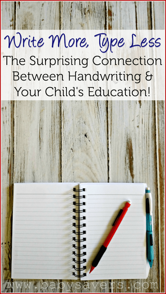 handwriting and education