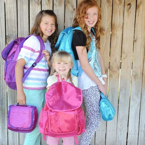 sparkle backpack lunchbox deal