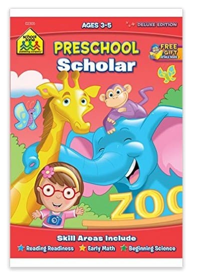 preschool workbook