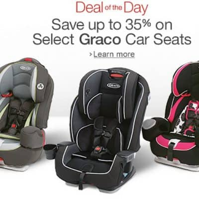 Save 35% Off on Select Graco Car Seats, Free Shipping Eligible! Today Only!