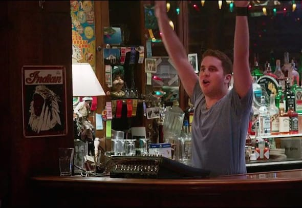 ben platt ricki and the flash daniel bartender