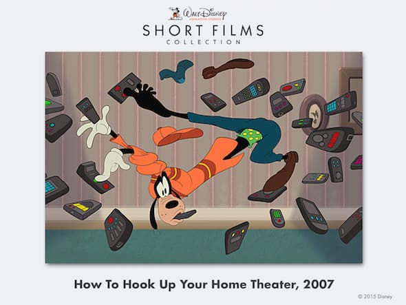 goofy home theater movie