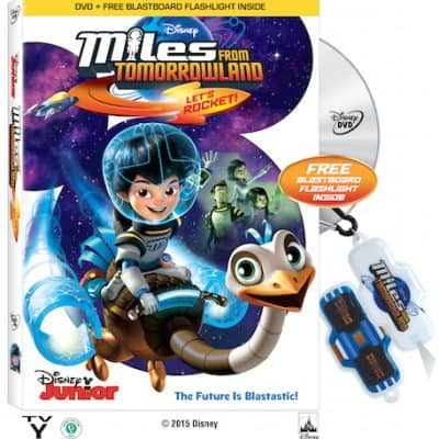 MILES FROM TOMORROWLAND Let's Rocket now on DVD!