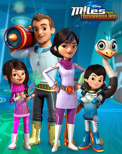 miles from tomorrowland review