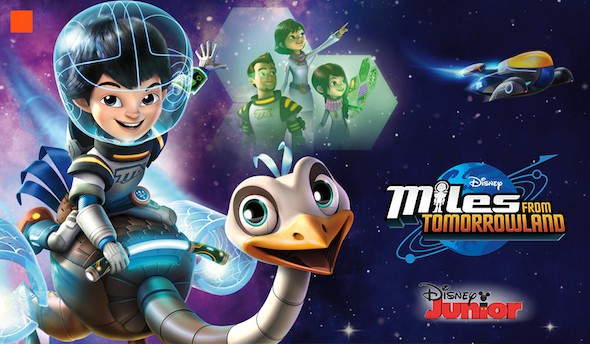 Miles From Tomorrowland logo image