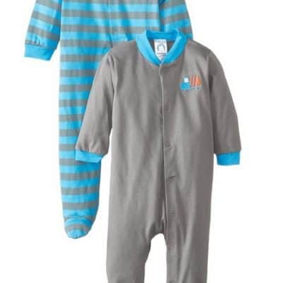 Save 40% on the Gerber Baby-Boys Newborn 2 Pack Sleep N Play Truck Bodysuit Set, Free Shipping Eligible!