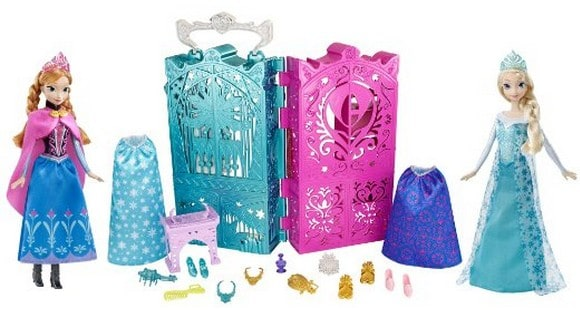 frozen doll play set