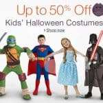 Save up to 50% off Halloween Costumes for the Kids, Free Shipping Eligible!