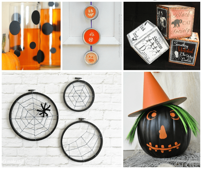 Make your own halloween decorations with 15 diy tutorials for Decorations for halloween to make at home