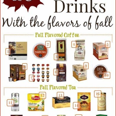 hot fall drinks