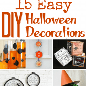 Make Your Own Halloween Decorations: 15 DIY Tutorials!