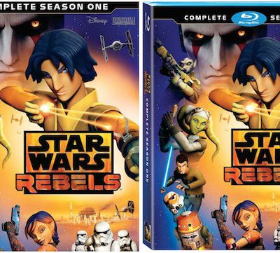 STAR WARS REBELS: Complete Season 1 Now on DVD and Blu-Ray! #StarWars