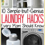 10 Genius Top Laundry Hacks Every Mom Needs to Know